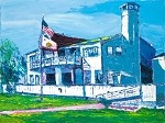 SOLD Benicia Yacht Club (Available in Giclee)