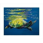 SOLD Lenny Leatherback (Available in Giclee)