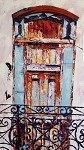 SOLD-Havana Balcony (available in Giclee)